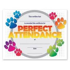 perfect attendance award attendance classroom freebies and