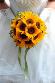bouquet of sunflowers artificial sunflowers wedding bouquets 2015 hot sale fashion