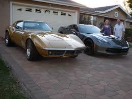 two corvettes line corvettes members