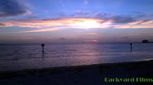 sunset time lapse cypress point beach tampa florida youtube