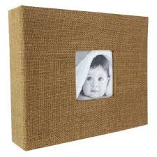 8 x 8 photo album 2 ring burlap scrapbook album 8 x 8 hobby lobby 820910