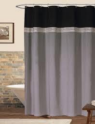 amazon com lush decor terra shower curtain blue chocolate 72 x