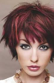 short blonde hair with red highlights auburn hair red highlights