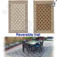 Outdoor Carpet For Rv by 6 U0027x9 U0027 Reversible Patio Mat Outdoor Indoor Floor Carpet Deck