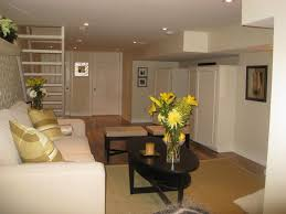 living room comfortable basement living space decorating with