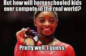 The Following Memes - why this simone biles homeschool success meme is disrespectful to