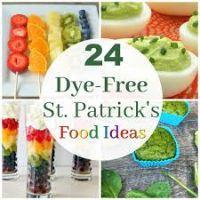 24 dye free ideas for fun st patrick u0027s day food healthy ideas