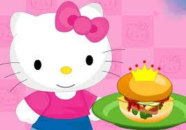 kitty cooking princess burger fun baby games
