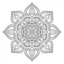 boho style ornament design vector free