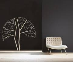 modern tree decal