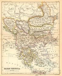 Balkans Map Balkans 1887 Feefhs