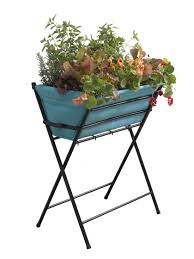 vegtrug elevated planter for small spaces gardener u0027s supply