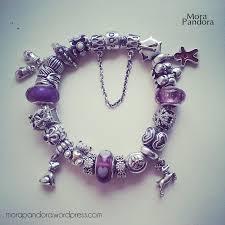pandora jewelry bracelet purple