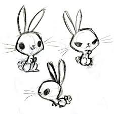 drawn bunny awesome pencil and in color drawn bunny awesome