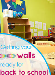 How To Hang Posters Without Damaging Walls by Decorating Classroom Walls Before Students Come Back To