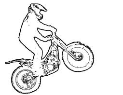 fox racing coloring pages fox racing dirt bikes sketch coloring page