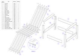 Free Wooden Deck Chair Plans by Wooden Chair Plans Diy Plans Diy Free Download Plans To Build A