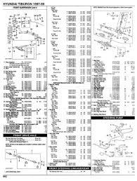 hyundai coupe parts list
