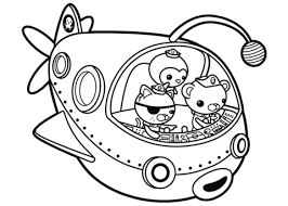 Octonauts Off To Adventure Coloring Page Free Printable Octonauts Coloring Pages
