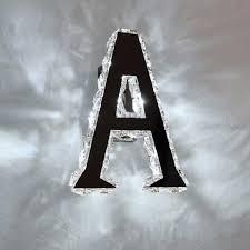 Indoor Home Decor Modern Creative Alphabet Metal Letter Led Crystal Sign Light