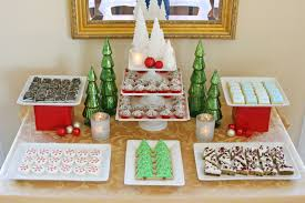 classic holiday dessert table u2013 glorious treats
