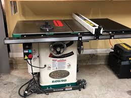 cabinet table saw for sale sold for sale grizzly g0690 10 3hp 220v cabinet table saw by