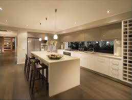 neutral kitchens sleek laminate floor background paired dark black