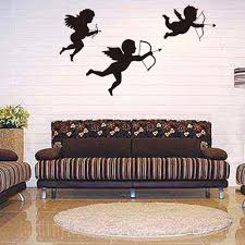 Stickers For Wall Decoration Popular Wall Decor Angels Buy Cheap Wall Decor Angels Lots From