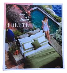 frette bed linens catalog lookbook
