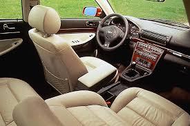 2001 audi a4 interior 1996 01 audi a4 consumer guide auto