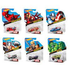 1 64 marvel character car assortment shop wheels cars trucks