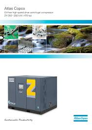 brochure zh 350 atlas copco compressors usa pdf catalogue