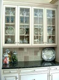 Kitchen Cabinet Doors With Glass White Cabinet Glass Door Glass Door Kitchen Cabinet 4 Bathroom