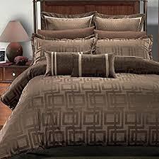 amazon com deluxe u0026 rich contemporary jacquard design in warm