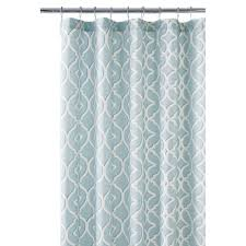 Shower Curtains Home Decorators Collection Nuri 72 In Shower Curtain In Seaglass