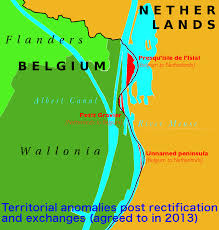 belgium and netherlands map belgium and the netherlands land without a single being