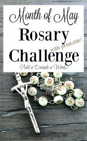 printable rosary mysteries pictures card challenge month