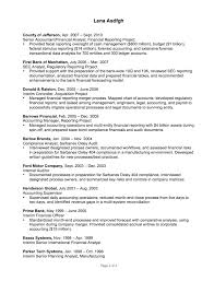 Resume For Financial Analyst Resume Example For A Data Analyst Susan Ireland Resumes