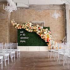 wedding backdrop trends s wedding trends for 2018 bridalguide