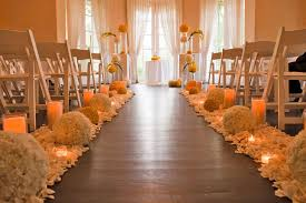 Wedding Aisle Decorations Romantic Fall Wedding Aisle Decoration Ideaswedwebtalks Wedwebtalks