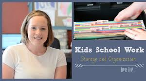 kids work storage and organization youtube