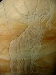Alabaster Stone Carved Bull Home by Stone Work Custom Egg Art Carvings And Sculpture Tamera Seevers