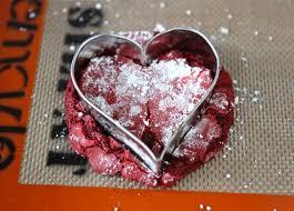 red velvet crinkle cookies red velvet cake mix cookies two