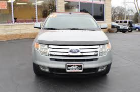 ford crossover 2007 2007 ford edge sel silver used suv sale