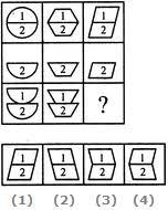 figure matrix non verbal reasoning questions and answers