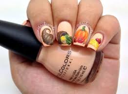 Thanksgiving Day Nail 15 Best Turkey Nail Designs Ideas Trends 2015
