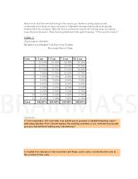 Macrs Depreciation Tables by Capital Budgeting Replacement Project Analysis