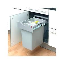 poubelle pour meuble de cuisine poubelle pour cuisine poubelle cuisine pour tiroir 600 mm 2 bacs 32