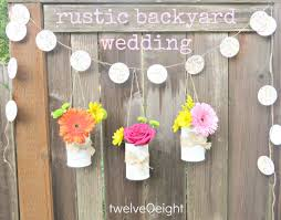rustic backyard summer wedding the big day is almost here