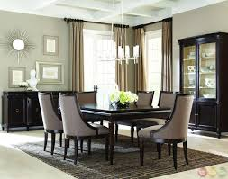 Modern Black Dining Room Sets by Formal Contemporary Dining Room Sets With Brown Finish Classics